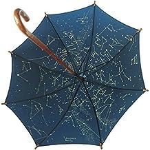 Paraguas Planisferio luminiscente infantil - 78 cm de diámetro abierto - Impermeable que brilla en la
