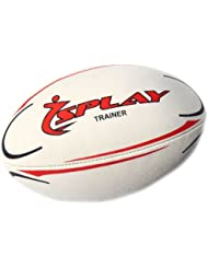 DE Splay Trainer Rugby Ball (Red) - Size 5