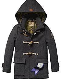 Scotch Shrunk Jungen Anzug Wollelen Duffle Coat
