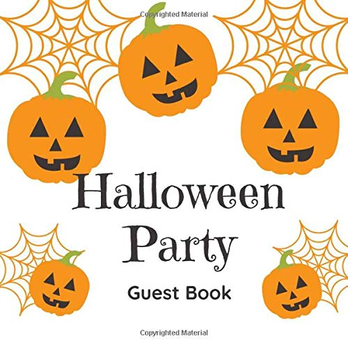 Coole Halloween Partys - Halloween Party Guest Book: Scary Themed