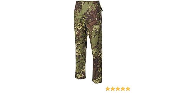 MFH BDU combattimento Pantaloni Ripstop Vegetato Woodland