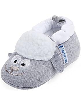 Gazechimp Babyschuhe Erstlingsschuhe Taufschuhe Hausschuhe aus Baumwolle