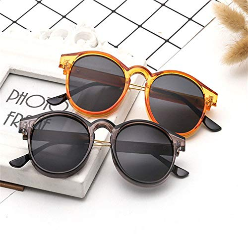 FGRYGF-eyewear2 Sport-Sonnenbrillen, Vintage Sonnenbrillen, Brand Round Sunglasses Men Women Unisex Retro Vintage Design Small Sun Glasses For Men Driving Sunglass Ladies Shades as picture Clear