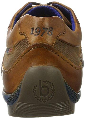 6300 cognac 311255021100 Braun Bugatti Herren Low top FWOZSWBHq