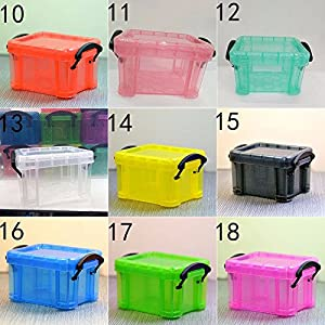 Super Popular Candy Color Creative Home Furnishing Mini Lock Box Super Cute Storage Boxes Accessories Organizer