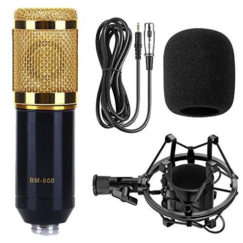 Jcotton Microphone à Condenseur Filaire avec USB...
