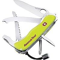 Victorinox Taschenmesser RescueTool (15 Funktionen, Frontscheibensäge, Scheibenzertrümmerer)