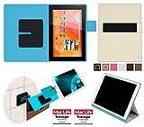 Hülle für Medion Lifetab S10346 (MD 98992) Tasche Cover Case Bumper | in Beige | Testsieger