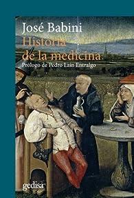 Historia de la medicina par Jose Babini