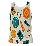 Snoogg Music Systems Mens Casual Beach Fitness Vests Tank Tops Sleeveless T shirts Amazon