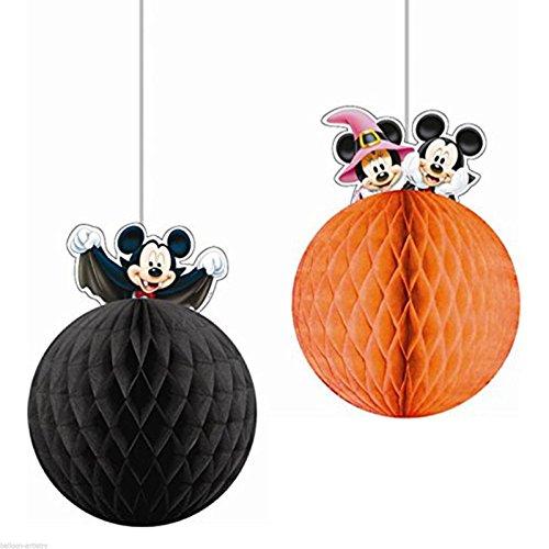 Mickey Halloween Wabenball Dekoration
