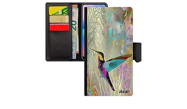 S10509 Passeport Support Étui Housse Colibri Motif