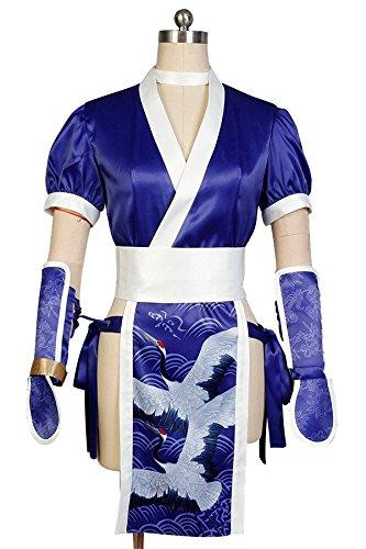 DOA: Dead or Alive Kasumi Cosplay Kostüm Damen XXL