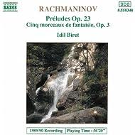 Rachmaninov: Preludes Op. 23 / Cinq Morceaux De Fantaisie