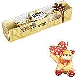 Ferrero Rocher - Valentine's Day Combo - Gift Box, 4 Pieces With Valentine Heart Teddy Bear Valentine Hamper 7