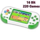 ZHISHAN Consola de Juegos Portátil para Niños con Construido en 220 Classic Video Juegos...