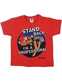 Garçons Angry Bird T-shirt Différents Styles Styles au choix dès âges de 5-6 pour 12-13 Ans