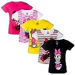 Minnie girls halfsleeves top pack of 5