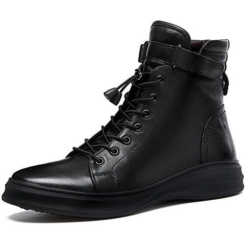 Automne hiver hommes garder chaud tendance chaussures occasionnelles Angleterre Martin bottes chaussures