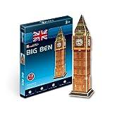 CubicFun 3D-Puzzle Big Ben im Miniformat