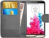 GizzmoHeaven LG G3 Leder Hülle Schutzhülle Tasche mit