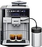 Siemens TE657F03DE EQ.6 plus S700 Extraklasse Kaffeevollautomat inklusive Milchbehälter, Edelstahl