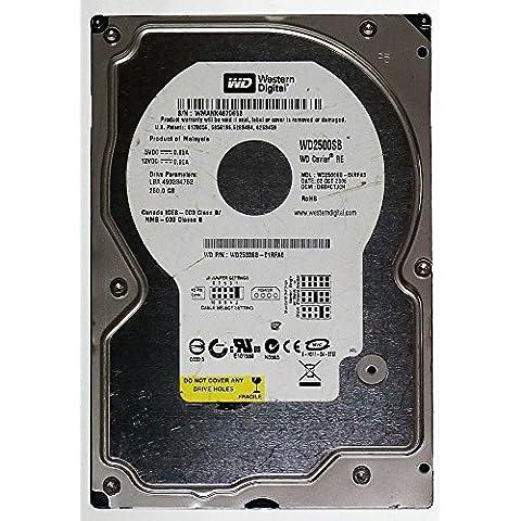 250GB HDD Western Digital WD Caviar Re wd2500sb IDE id13182