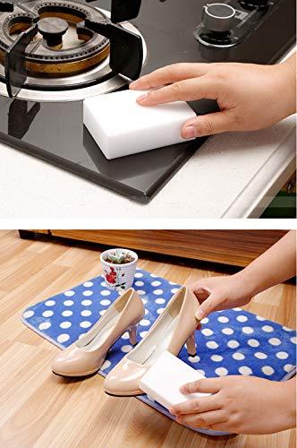 Mehrzweck-Schwamm Magic Radiergummi Peelingschwamm Magic Radiergummi Pad Tough Scrubbing Pad Radiergummi für Küche und Haushalt Reinigung (35), 25, Einheitsgröße