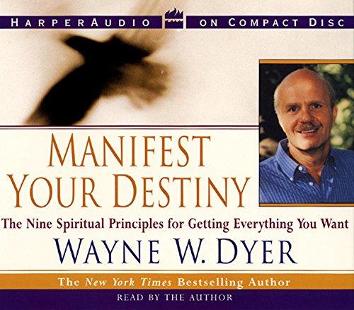 Manifest Your Destiny CD por Wayne W. Dyer