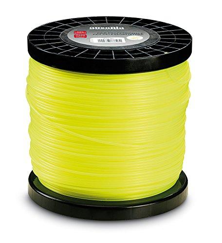 Ausonia - 83746 Bobina de hilo para cortabordes redondo amarillo 3,0 mm x 2 kg