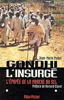 Gandhi l'insurgé : L'épopée de la marche du sel par [Muller, Jean-Marie]