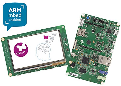 STMicroelectronics STM32F746G-DISCO Discovery Kit with Model STM32F746NG  Microcontroller Unit