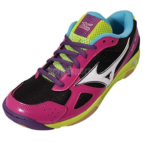 Mizuno Wave Twister 3 Women's Chaussure Sport En Salle - AW15 pink