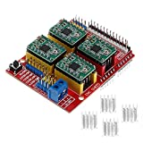 lzn CNC Shield Expansion Board V3.0 + UNO R3 Board for Arduino+4pcs A4988 Stepper Motor Driver With...