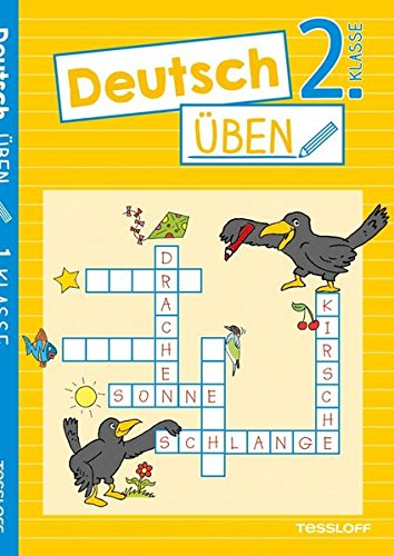 Deutsch üben 2. Klasse: Wortarten erkennen, richtig schreiben, genau lesen