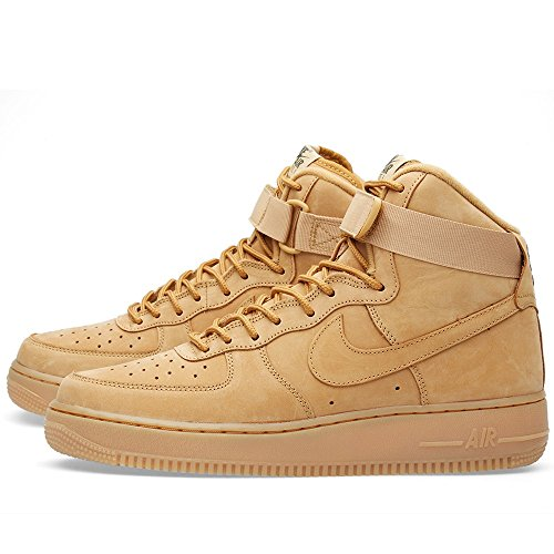 Nike Air Force 1 High '07 LV8, Chaussures de Sport-Basketball Homme flax/flax-outdoor green