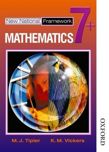 New National Framework Mathematics 7+: 7 Plus by M J Tipler (2002-08-07)