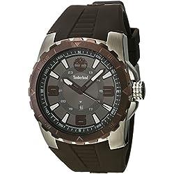 182e58d3ab92 Timberland Reloj Analógico para Hombre de Cuarzo con Correa en Caucho  TBL.14478JSTBN-61P