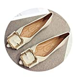 MY NAME IS PHARAOH Ballerines pour Femmes à Bout Pointu - Chaussures Plates - Chaussures Plates - Confort