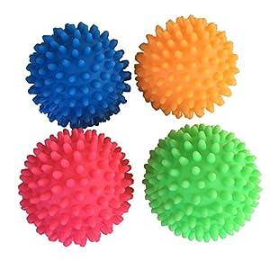 4 Stck Igel Massageblle Noppenball Ca 7 Cm Durchmesser Verschiedene Farben