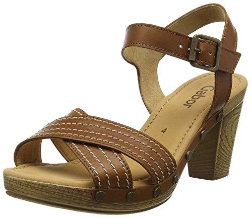 Gabor 41.781 Damen Sandalen, Braun, Leder, 7 UK / 40.5 EU (Damen 55 Open Toe Schuhe)