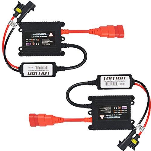taitian 2pcs 35W universale HID Ballast Slim ricambio xenon Kit di conversione per scarico ad (Scarico Universale Kit)