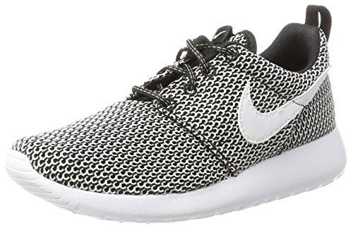 Nike Mädchen Roshe One GS Gymnastikschuhe, Schwarz (Black/White), 39 EU (Run Schuhe Kinder Nike Roshe)