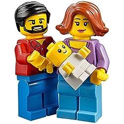 Lego divertimento nel parco Famiglia, mamma, papà e baby minifigure da Impostare 60134