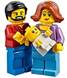 LEGO Town City Fun in the Park Family of Minifigures - Mom Female, Dad Male, and Baby (60134)