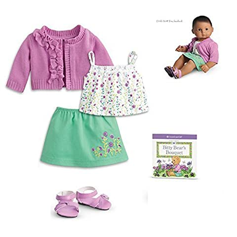 American Girl Bitty Baby Blossom Outfit for 15 Dolls by American Girl