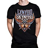 Lynyrd Skynyrd CROSSED GUITARS - Herren Schwarzes T-Shirt