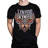 Lynyrd Skynyrd CROSSED GUITARS - Herren Schwarzes T-Shirt
