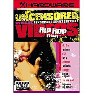 Hardware: Uncensored Music Videos - Hip Hop, Vol. 1 by Eminem