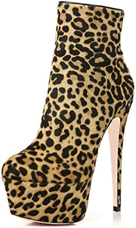 Hy Bottes à la Mode Femmes, Bottillons imperméables en PU / artificiels, Printemps/Automne / PU Hiver, Chaussures de... 69518c